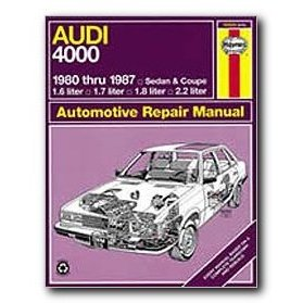 Show details of Haynes Audi 4000 (80 - 87) Repair Manual.