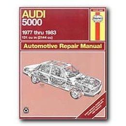Show details of Haynes Audi 5000 (77 - 83) Repair Manual.