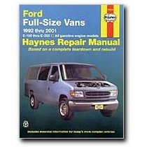 Show details of Haynes Ford Full-Size Vans (92 - 01) Manual.