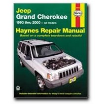 Show details of Haynes Jeep Grand Cherokee (93 - 00) Manual.
