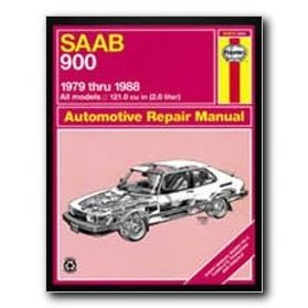 Show details of Haynes Saab 900 (79 - 88) Repair Manual.