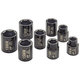 Show details of Ingersoll Rand SK3M8 3/8-Inch Drive 8-Piece Metric Standard Impact Socket Set.