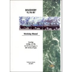 Show details of Land Rover Discovery Official Workshop Manual: 1995-1998 (Paperback).