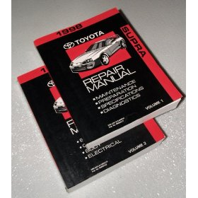 Show details of 1998 Toyota Supra Repair Manuals.