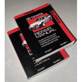 Show details of 1998 Toyota Supra Repair Manuals.