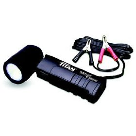 Show details of TITAN UV/Blue Pivoting Head Lamp - 12V/50W - TP8100A, by Tracerline - Tracerline - TP8100A.