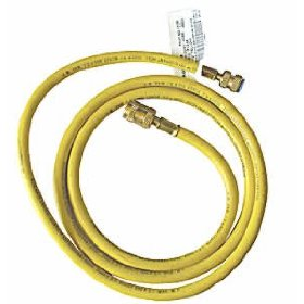 Show details of Robinair (ROB13190) R134A Yellow Tank Hose.