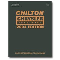 Show details of Chiltons Book Company (CHN24239) Chrysler Service 2000-2004 Manual.