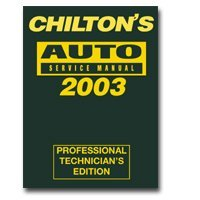 Show details of 1999 - 2003 Auto Service Manual.