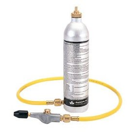 Show details of Air Conditioning System Flush Kit.
