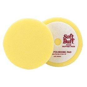Show details of Meguiar's W8006 6.5-Inch Soft Buff Foam Polishing Pad.