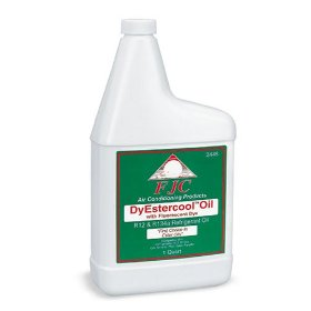 Show details of FJC Inc. 2445 DyEstercool A/C Refrigerant Oil and Dye - 1 Quart.