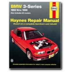 Show details of BMW 3 Series 1992 thru 1998 Haynes Repair Manual.