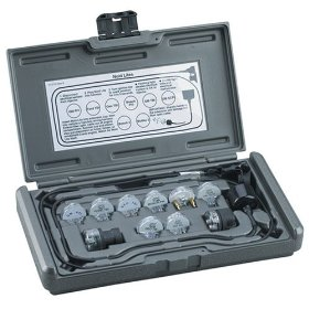 Show details of OTC 3054C 8 Piece Noid Lite and Idle Air Control Test Kit.