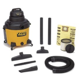 Show details of Shop-Vac 92542 Right Stuff 16-Gallon 5 HP Wet/Dry Vacuum.