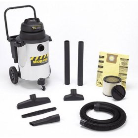 Show details of Shop-Vac QPL650 10-Gallon 6.25 HP Wet/Dry Vacuum.