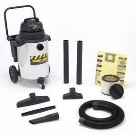 Show details of Shop-Vac QPL650 10-Gallon 6.25 HP Wet/Dry Vacuum.
