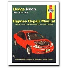 Show details of Haynes Dodge Neon (2000 - 2003) Repair Manual.