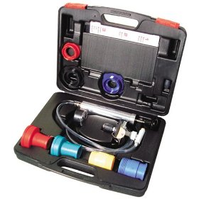 Show details of KD Tools 3700 Master Cooling System Test Kit With Radiator and Cap Adapters.