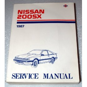 Show details of 1987 Nissan 200SX Factory Service Manual.