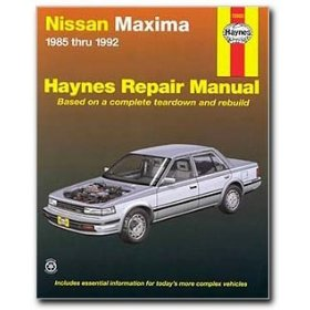 Show details of Haynes Nissan Maxima (85 - 92) Manual.