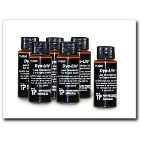 Show details of Tracerline Dye-Lite Coolant/Auto Body Dye, Case of (6) 1 oz. bottles.