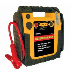 Show details of Wagan 900 Amp Battery Jumper with Air Compressor.