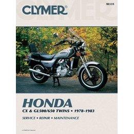 Show details of CLYMER HON CX & GL500/650 M335.