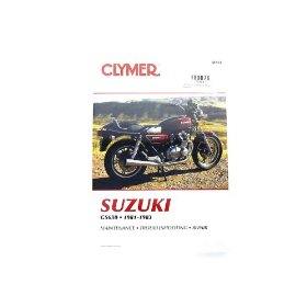 Show details of MANUAL CLYMER SUZ GS650 M364.