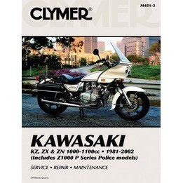 Show details of CLYMER KAW 1000+1100 4CYL M4513.