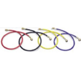 "Show details of Mastercool 45962 96"" R-12 Yellow Hose With Auto Shut-Off Fittings."