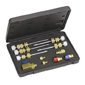 Show details of Universal A/C Valve Core Remover and Installer Kit R12 / R134a (MSC58490) Category: Valve Core Tools.