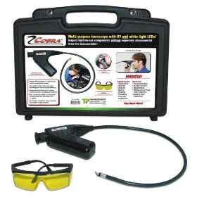 Show details of Spectronics Corp / Tracer TP-9350 COBRA Multi-Purpose Borescope UV/White LEDs.