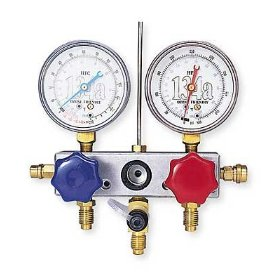 Show details of TIF Instruments 4500A - 134a Dry Automotive Refrigerant Gauge Set - TIF - 4500A.