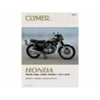 Show details of CLYMER HON 350-550 4CYL M332.
