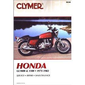 Show details of CLYMER HON GL1000 + 1100 M340.