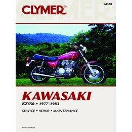Show details of CLYMER KAW KZ650 M358.