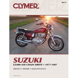 Show details of CLYMER SUZ GS400-450 TWIN M372.