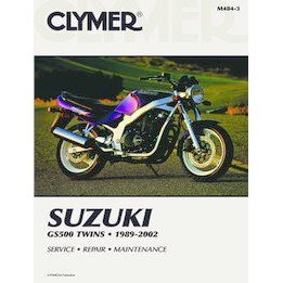 Show details of CLYMER SUZ GS500 TWIN M4843.