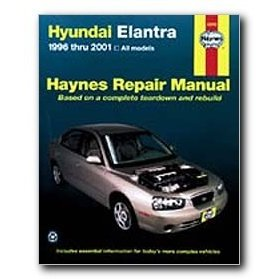 Show details of Haynes Hyundai Elantra (96 - 01) Repair Manual.