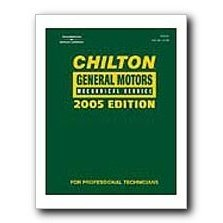 Show details of Chilton 2005 General Motors Mechanical Service Manual.