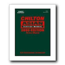 Show details of Chilton 2005 Asian Mechanical Service Manual - 2 Volume Set.