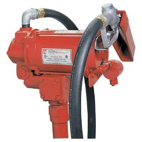 Show details of Tuthill Super High-Flow Fuel Pump for Diesel Fuel - 115/230 Volt, 35 GPM, Model# FR310NT.