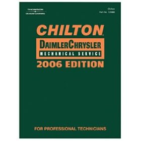 Show details of Chilton 2006 DaimlerChrysler Mechanical Service Manual, 2002-2006.