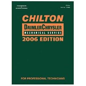 Show details of Chilton 2006 DaimlerChrysler Mechanical Service Manual, 2002-2006.