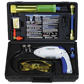 Show details of Complete Electronic and UV Leak Detection Kit.