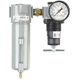 "Show details of Milton 1108 1/2"" Filter and Regulator Duo."