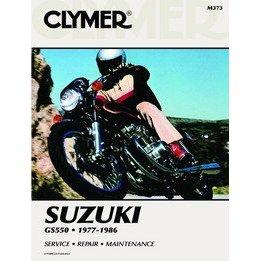 Show details of CLYMER SUZ GS550 M373.