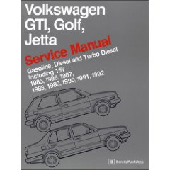 Show details of Volkswagen GTI Golf-Jetta Service Manual, 1985-1992 (Paperback).