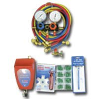 Show details of FJC KIT4 - Air Conditioning Starter Tool Set - FJC - KIT4.